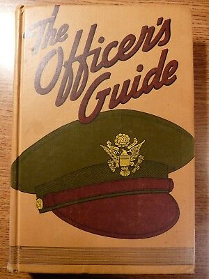 Original WW2 US Army Officer's Guide (10th Ed.) 1944, HC 553 pp