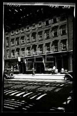 1936 905 3rd Ave Shoe Repair Manhattan NYC New York City Old Photo Negative H46