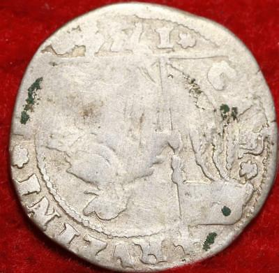 1734 Italy-Venice 20 Soldi Silver Foreign Coin