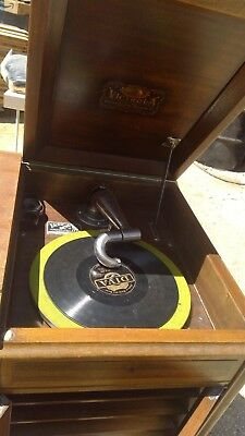 Antique 1920's RCA Victor Talking Machine Victrola Model#  VV-215 30753