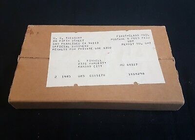 1985 Mint Sets Sealed / Unopened Box of 2 Complete as Shipped by US Mint