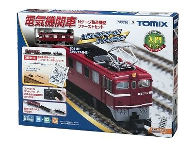 Tomix 90096 Electric Locomotive Type ED61 My First Tomix Set (N scale)
