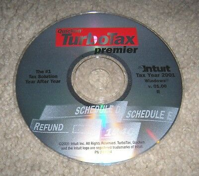Intuit TurboTax Premier for Tax Year 2001