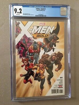 X-MEN GOLD #1, RECALLED ARDIAN SYAF ISSUE, CGC 9.2, Marvel Comics (2017)