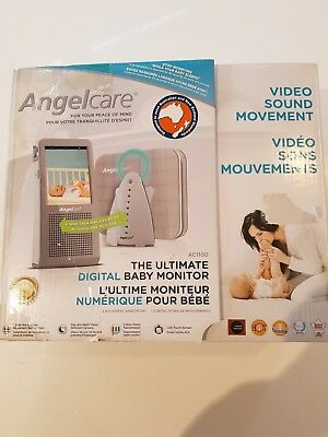 Angelcare AC1100-A Baby Monitor - Video, Movement Senors and Sound Monitor