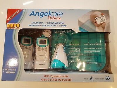 Angelcare Deluxe Movement And Sound Baby Monitor (With 2 Parent Units)