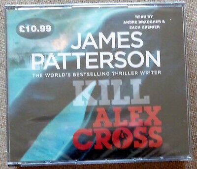 Kill Alex Cross: (Alex Cross 18) by James Patterson CD Audiobook New and Sealed