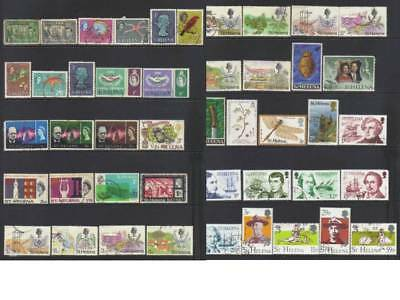 (789) St Helena 1938-1986 Used Collection