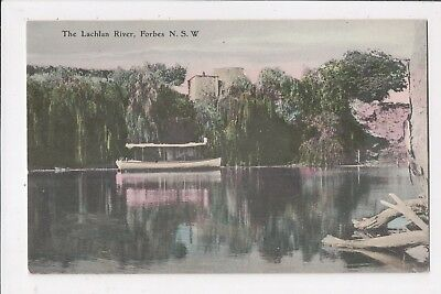 The Lachlan River, Forbes, NSW - Pleasure Boat.