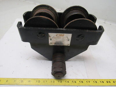 "CM Series 633 I Beam Push Trolley 1 Ton Capacity 2-1/2"" to 7"""