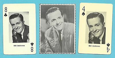 Bill Anderson Fab Card Collection American country music singer Grand Ole Opry