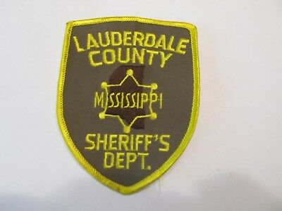 Mississippi Lauderdale Co Sheriff Patch