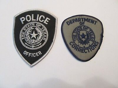 Texas State Police Patch & Correction