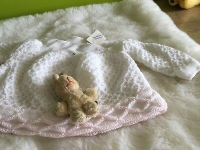 Authentic Vintage Baby girls Childrens infants  Dress/angel top unused 70s 0/3m