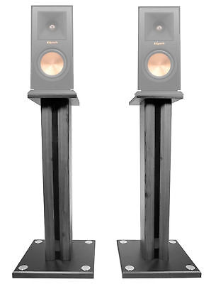"Pair 26"" Bookshelf Speaker Stands For Klipsch RP-150M Bookshelf Speakers"