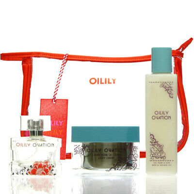 Oilily Ovation Set EDP 50 ml + BC 200 ml + B&SG 200 ml Parfum NEU