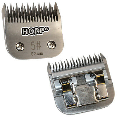 "HQRP Size-5 Animal Clipper Blade for Wahl KM Pet Grooming (hair 1/4"" - 6.3mm)"