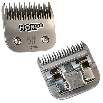 "HQRP Size-5 Animal Clipper Blade for Oster Pet Grooming (Leaves hair 1/4""-6.3mm)"