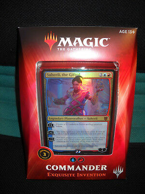 Magic the  Gathering. - Commander Deck 2018 Exquisite Invention - Engl.