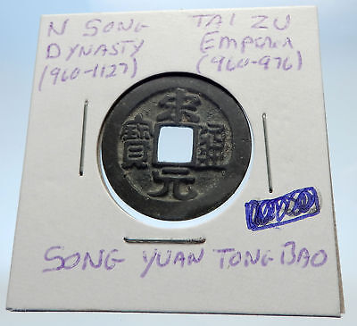 960AD CHINESE Northern Song Dynasty Antique TAI ZU Cash Coin of CHINA i71588