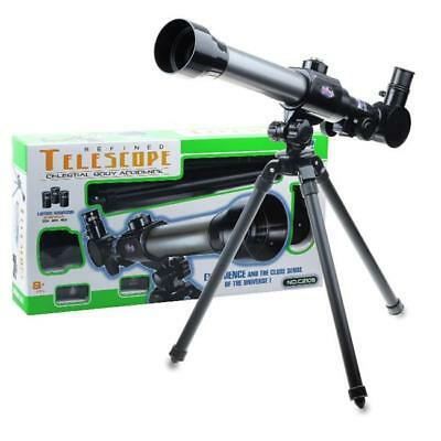 Powerful Astronomical Telescope With Tripod Stargazing Educational Kids Toy CB