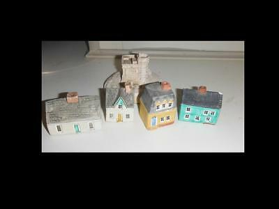 Historical Painted Stone House Miniatures Newfoundland and Labrador
