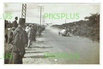 "Old Motor Racing Postcard "" Mercedes "" French Grand Prix Real Photo Vintage 1914"