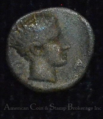 Cyprus Salamis 411BC silver Hemiobol VF/EF BMC#42 Ancient Greece Ram Head Rare