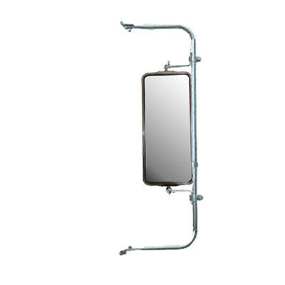 Wide Mount Loop Arm Assembly Stainless Steel West Coast Mirrors