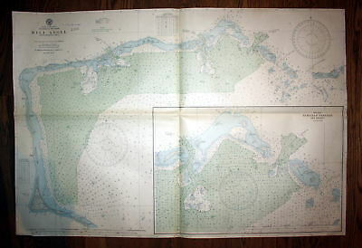 1940 North Pacific Ocean Marshall Islands Mili Atoll Australien Austria map Plan