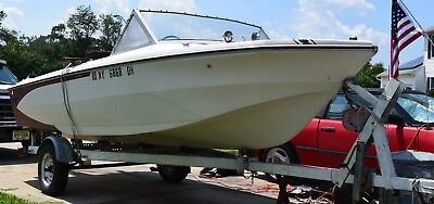 1969 Glastron V120 16' Runabout & Trailer - New Jersey