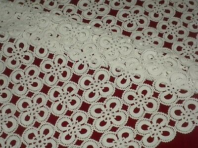 Vintage Hand white Crochet Table Cloth/Cover**77cm x 77cm