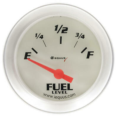 "Equus Fuel Level Gauge 8362; 8000 Series 0 to 90 Ohms 2-1/16"" Electric"