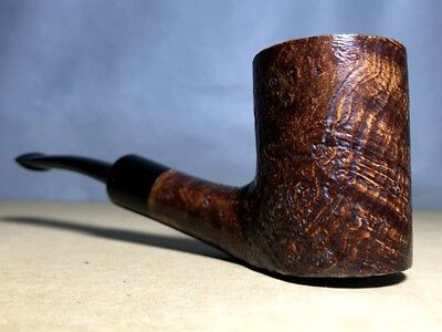 Road Town Cannon Poker Style Briar wood craft pipe--- unsmoked