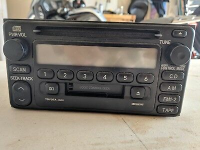 Toyota Echo Car Stereo - Cassette Player / CD Player / AM FM Radio
