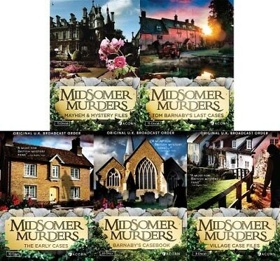 MIDSOMER MURDERS SERIES 1 - 13 New DVD All 81 Inspector Barnaby Episodes Season