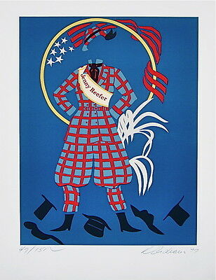 Jenny Reefer (The Mother of Us All), Limited Edition Lithograph, Robert Indiana