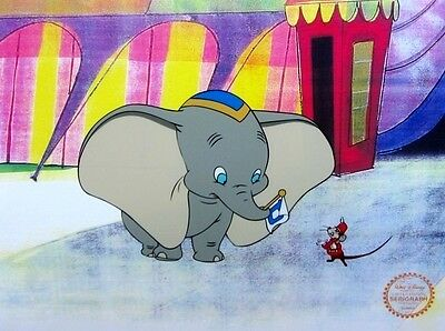 Dumbo & Timothy Mouse, Limited Edition Sericel, Disney