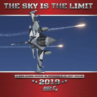 2019 Sky is the Limit 2019 Wall Calendar, Airplanes by Willow Creek Press