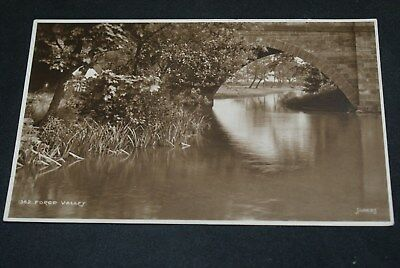 1926 B/w Judges Postcard Showing Forge Valley Yorks. Posted.