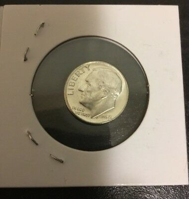 1965 Roosevelt Dime Special Mint US Coin.