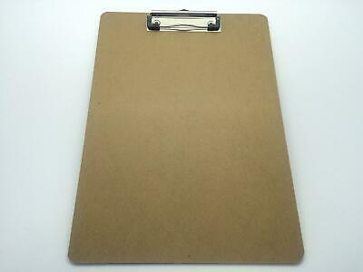 Pack of 48 A4 Quality Wooden - Clipboard with Hanging Hole ideal for Office