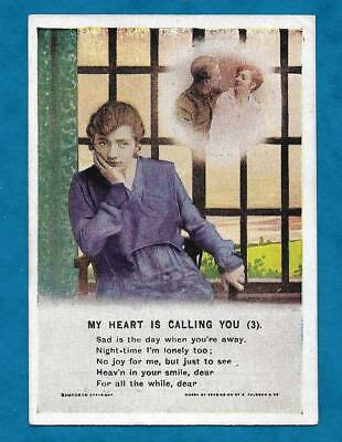 """Wwi Era Small Song Pc Given Free With """"my Weekly"""" - """"my Heart Is Calling You"""""""