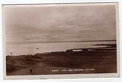 Scotland, Brora, The Golf Links And Bathing Station, Rp