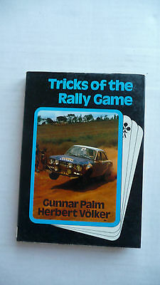 TRICKS  OF  THE  RALLY  GAME.  1972 book.  Palm and Volker.
