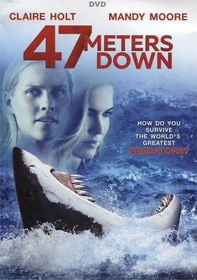 47 Meters Down (DVD, 2017)