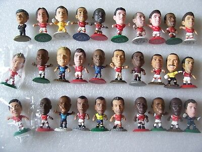 Lot Of 30 Arsenal Microstars Inc Wenger,van Persie,rosicky