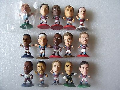 Lot Of 15 Aston Villa Microstars Inc Agbonlahor,laursen