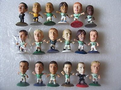 Lot Of 18 Celtic Microstars Inc O'neill,larsson,lennon