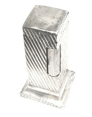 Vintage Dunhill Silverplate ROLLALITE Lighter